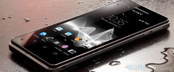 Humedad en smartphone clicks fantasma