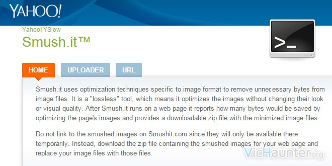 Como optimizar imagenes con Smush.it desde la consola de comandos de linux y windows