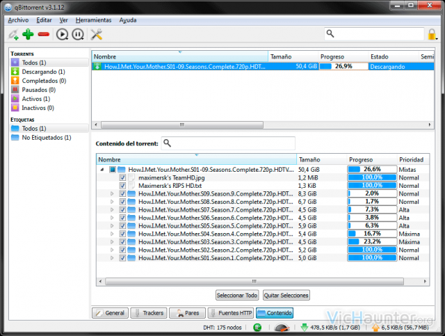 qBittorrent, una buena alternativa a utorrent