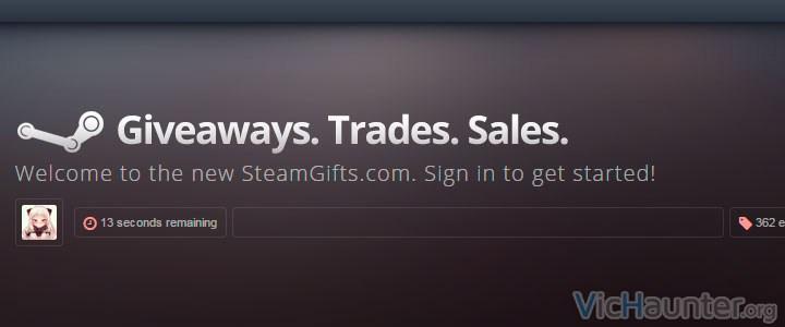 Web que regala juegos de steam gratis