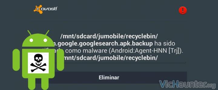 Eliminar aplicaciones internas de android
