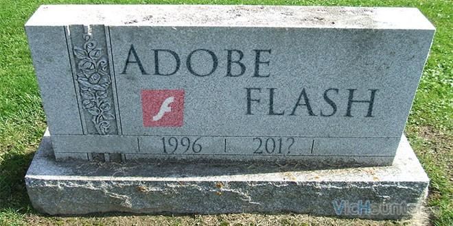 adios adobe flash rep