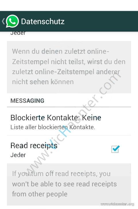Se Podrá Desactivar El Aviso De Leído En Whatsapp