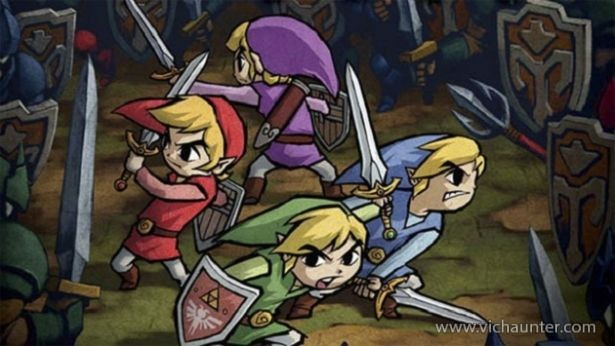 the-legen-of-zelda-four-swords-gratis