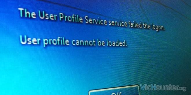 Como solucionar el error en el servicio de perfil de usuario al iniciar sesión