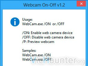 webcam-on-off-commands