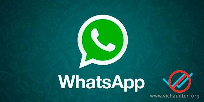 Whatsapp permite deshabilitar la confirmación de lectura
