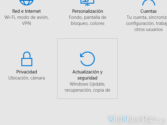 windows 10 configuracion actualizaciones