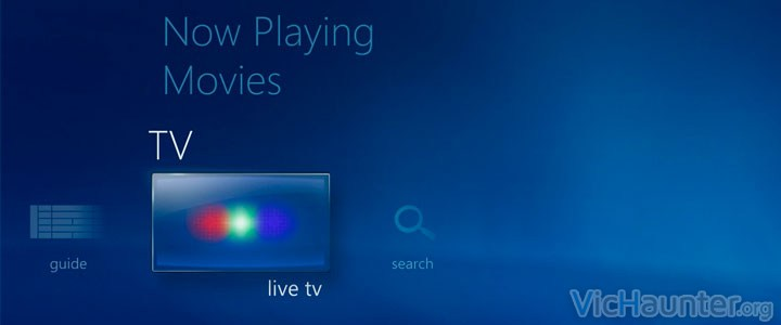 Como ejecutar automáticamente tv en vivo en windows media center 8 y 7