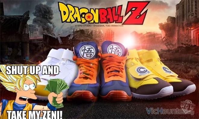 Zapatillas deportivas bola de dragón